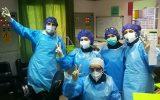 مدافعان سلامت در بیمارستان سراب