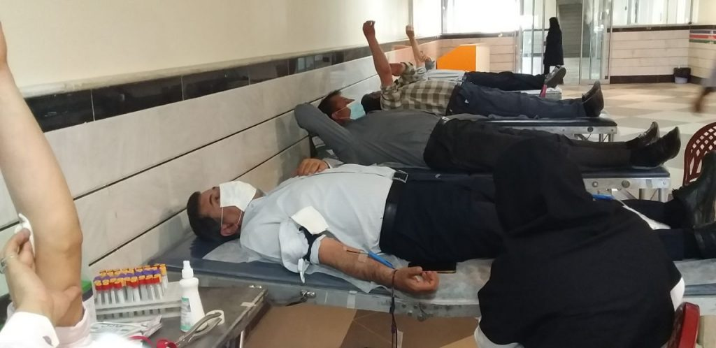 شکرانه سلامت/روایت تصویری مردم سراب از اهدای خون